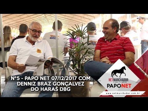 #5 PAPO NET - NET MARCHADOR - COM DENNIS BRAZ GOLÇALVES DO HARAS DBG - MANGALARGA MARCHADOR