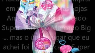 Ovo De Páscoa My Little Pony No Brasil