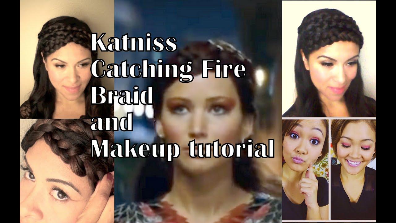 Katniss everdeen braid catching fire