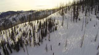 Multirotors and GoPros over the Backcountry