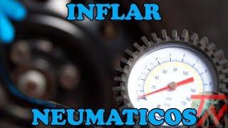 Presión de aire correcta en neumáticos