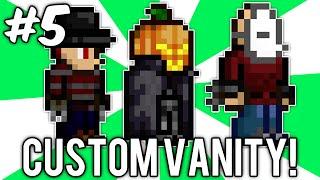Terraria Custom Vanity Outfits #5 (Freddy Krueger, Jason