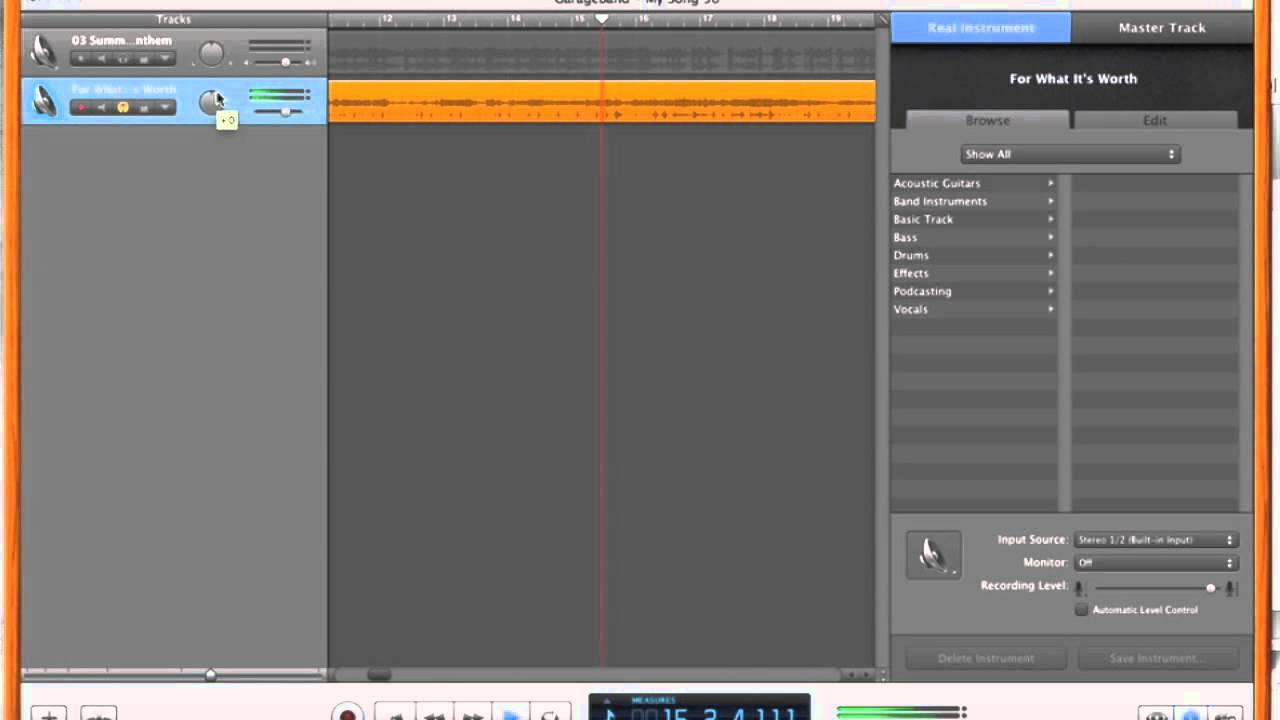 how to upload a garageband song to google drive