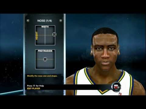 NBA 2K12 - How to Create Alec Burks