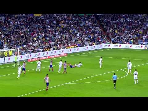 Koke Vs Real Madrid (la liga, 28.09.13)
