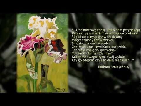 Irysy - Kwiaty Świata - malarstwo Józefy Ziuty Pawlik [PL]