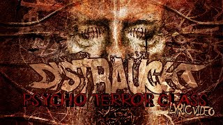 DISTRAUGHT - Psycho Terror Class [lyric video]