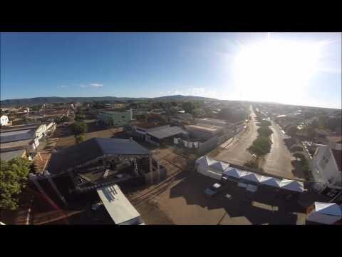 Terceiro dia de montagem Carnaval Buritis MG Drone