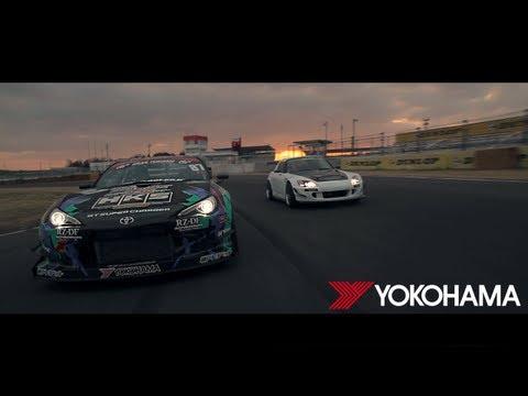 Yokohama Neova AD08R // Time Attack With HKS & Arvou Taniguchi N.O.B.