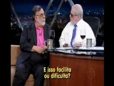 Francis Ford Coppola no Jô - Trechos (Acervo Cláudio Santana)