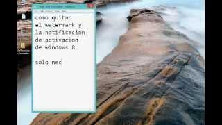 Windows 8 Enterprise Como Eliminar Watermark Y La