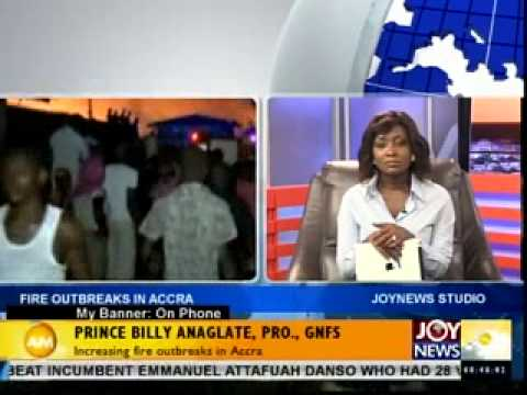 INCREASING FIRE OUTBREAKS IN ACCRA -  My Banner on Joynews (14- 4- 14)