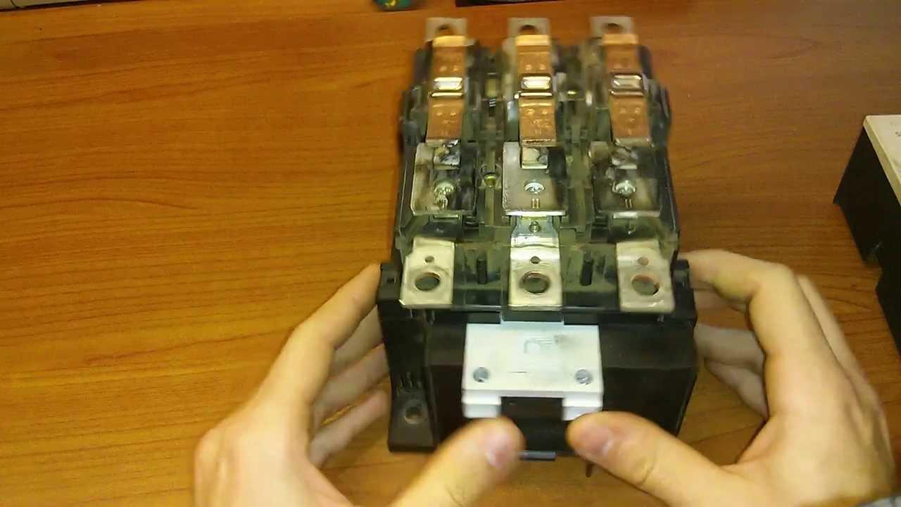 Funzionamento di un teleruttore o contattore youtube for Teleruttore schema