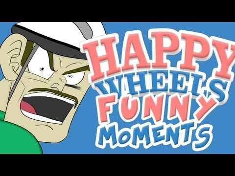 HAPPY WHEELS - FUNNY MOMENTS MONTAGE