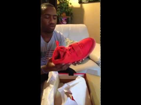 Nike Air Yeezy 2 Red October Unboxing - Size 11