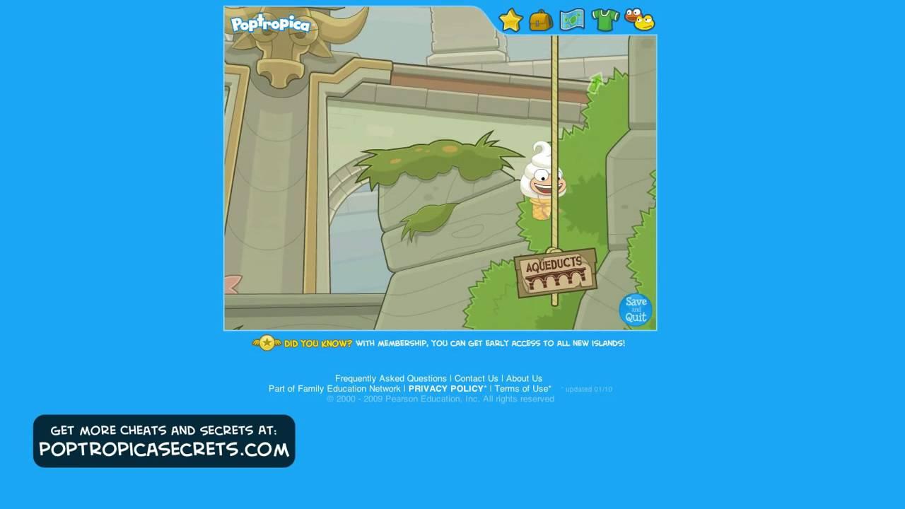 Poptropica Astro Knights Island Full Walkthrough Part 1 ...