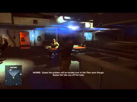 Battlefield 4 - South China Sea: Tour of USS Valkyrie (Explored) Hannah Med Bay, Mess Hall, Dogtag