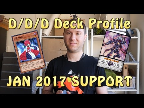 Yugioh  *BEST*  D/D/D FUTURE META Deck with new support