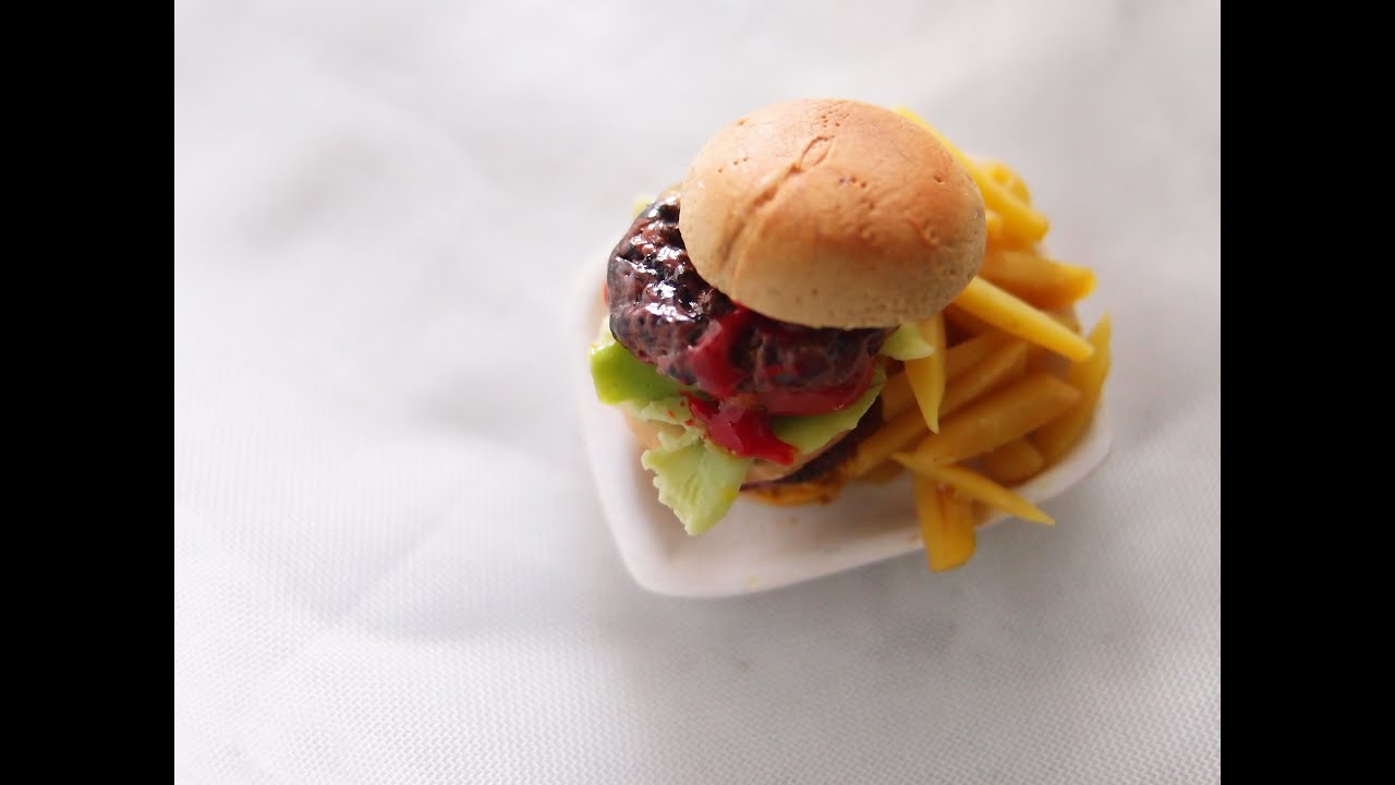 Polymer clay food charms tutorials the for Polymere cuisine