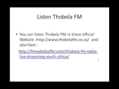 South African Radio station Thobela FM Online