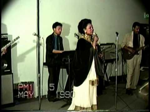 Bezunesh Bekele in LA Final Concert May 11 1990 6 weeks before she died - Bezunesh Bekele in LA Fina