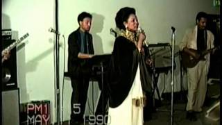 Bezunesh Bekele in LA Final Concert May 11 1990 6 weeks before she died