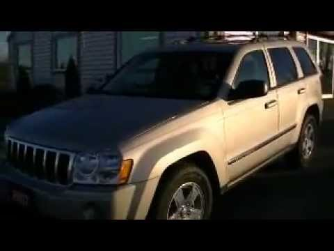 2007 Jeep Grand Cherokee Laredo 6 cyl with only 39,550 KMs.