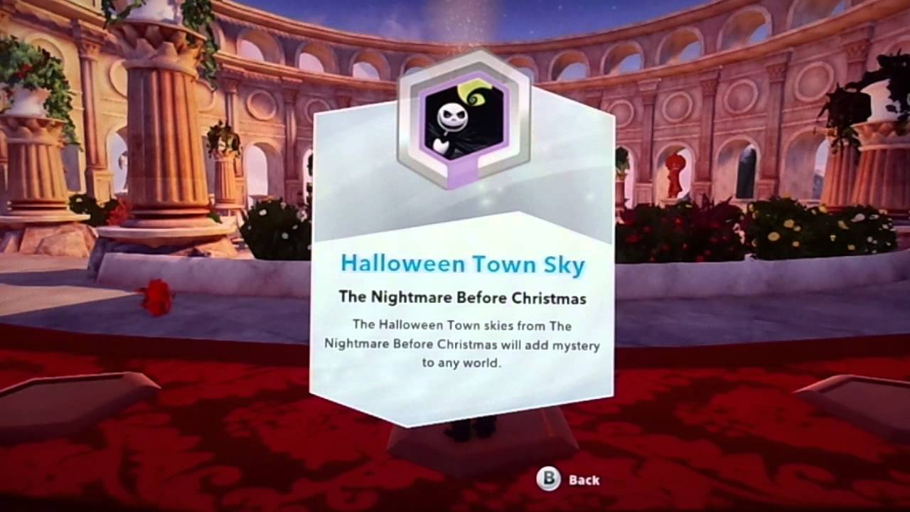 Disney Infinity The Nightmare Before Christmas Power Disc Preview ...