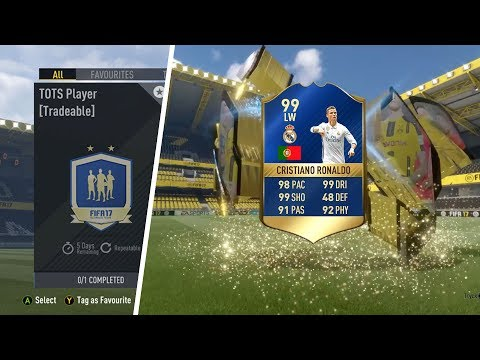 FIFA 17 Opening Loads Of TOTS Guaranteed Packs And Playing FUT Champions