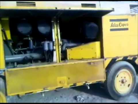 COMPRESSOR ATLAS COPCO 1500DD BY VICTORIOUS INTERNATIONAL