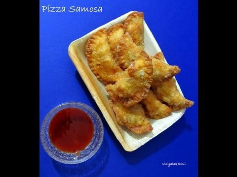 Pizza Samosa Recipe