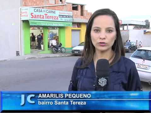Polcia prende homem suspeito de assaltar aougue no bairro Santa Tereza