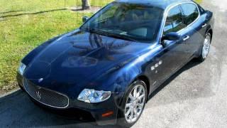 2007 Maserati Quattroporte Sport GT Nuvalori Grey Metallic A2525 videos