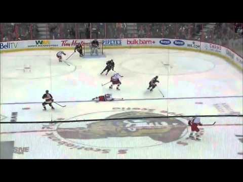 Milan Michalek Goal (Carolina Hurricanes vs Ottawa Senators April 16, 2013) NHL HD
