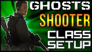"COD Ghosts - ""SHOOTER"" Custom Class Setup ""Bob Lee Swagger""  (Call of Duty Online)"