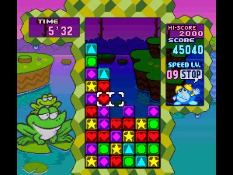Tetris Attack - Tetris Attack max score run - User video