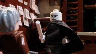 LEGO Voldemort Goes Wand Shopping