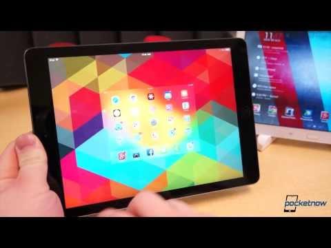 iPad Air vs Galaxy Note 10.1 2014 Edition