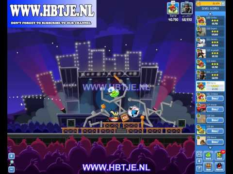Angry Birds Friends Tournament Week 69 Level 6 high score 74k (tournament 6) Rock in Rio