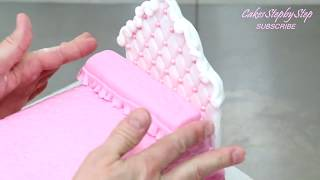 How To Make A Princess Doll Bed Cake by CakesStepbyStep