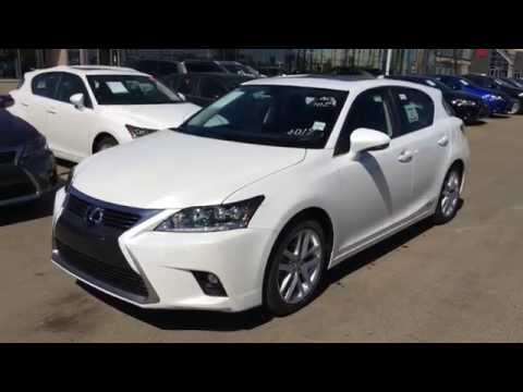 2014 Lexus CT 200h Hybrid - Technology Package Review - White on Black