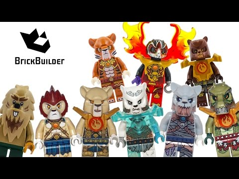 Lego Chima Minifigures 2015 Complete Collection - BrickBuilder
