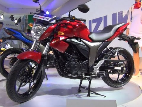 Suzuki Gixxer Review- Features, Style, Price And More From Auto Expo 2014
