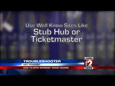 Howard Ain, Trubleshooter: Beware ticket sales scams