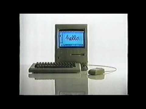 Mac Apple Computer Commercial 1980s