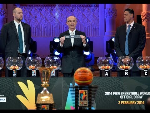 REWATCH - Draw of the 2014 FIBA Basketball World Cup