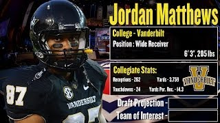 2014 NFL Draft Profile: Jordan Matthews Strengths And