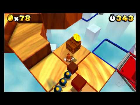 Super Mario 3D Land: World 2-4