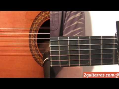 Clases de guitarra - Ejercicio de Bulería - Parte 14
