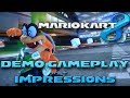 Mario Kart 8: Gameplay + Impressions (Demo)